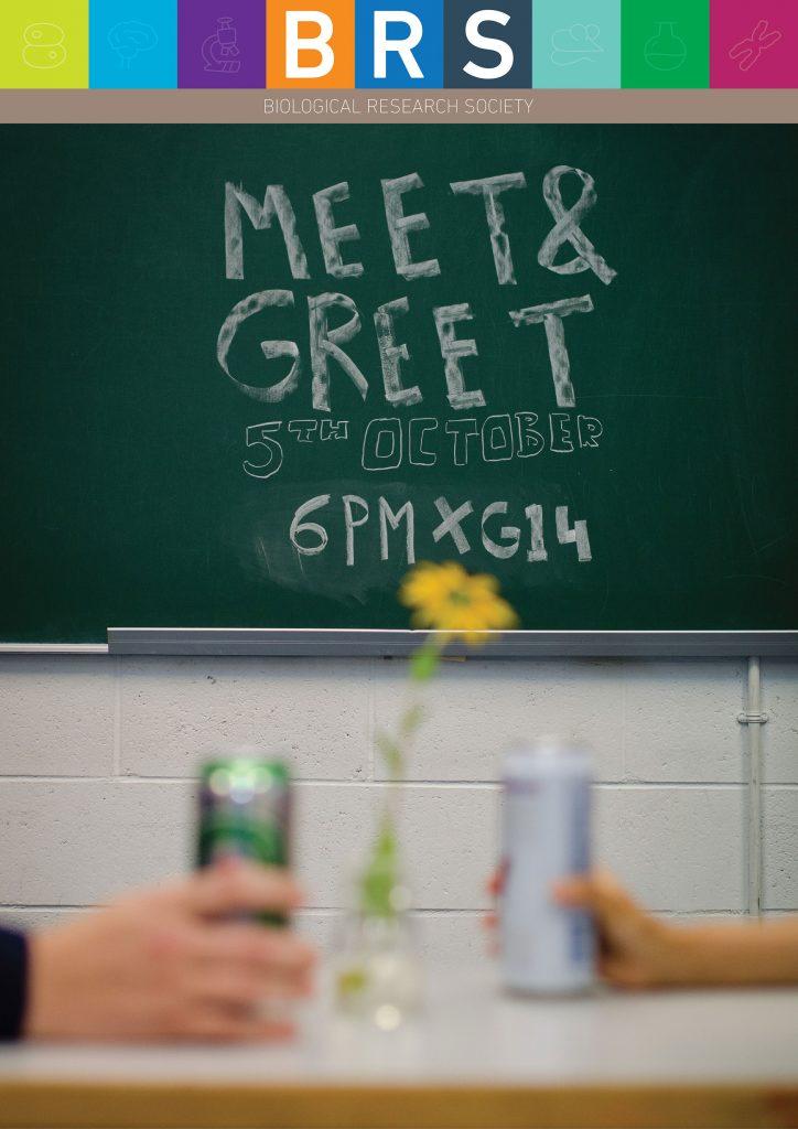 BRS Meet n' Greet Poster