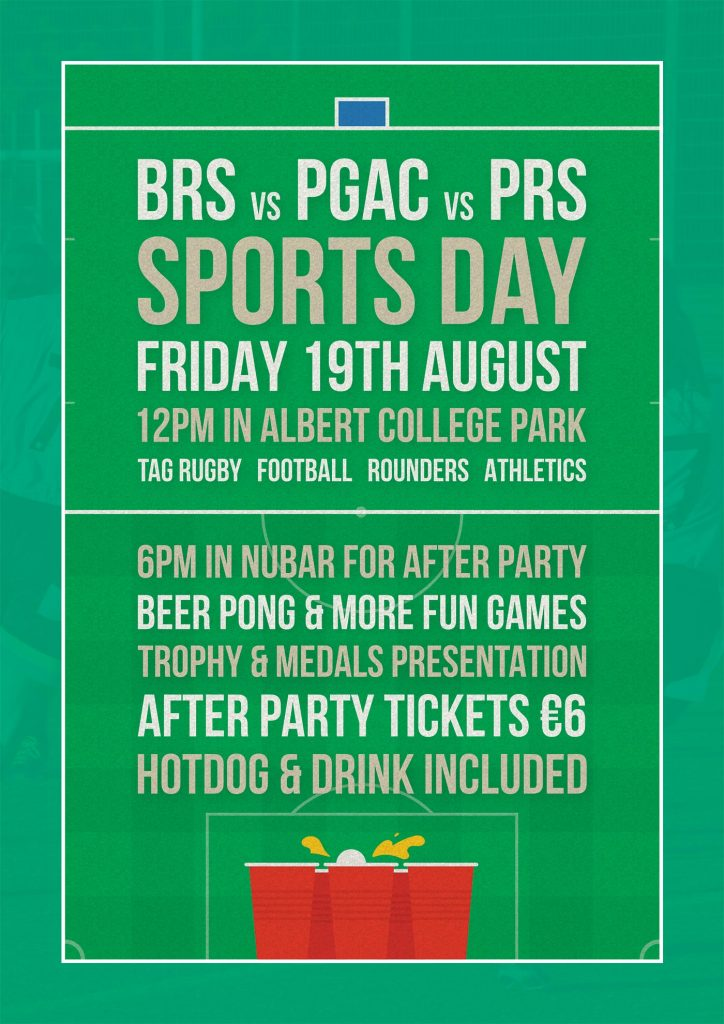BRS Sports Day 2016 Poster